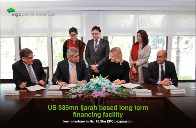 Engro Polymer and Chemicals secures US$35 million from International Finance Corporation (IFC), a billion dollar expansion plan 16