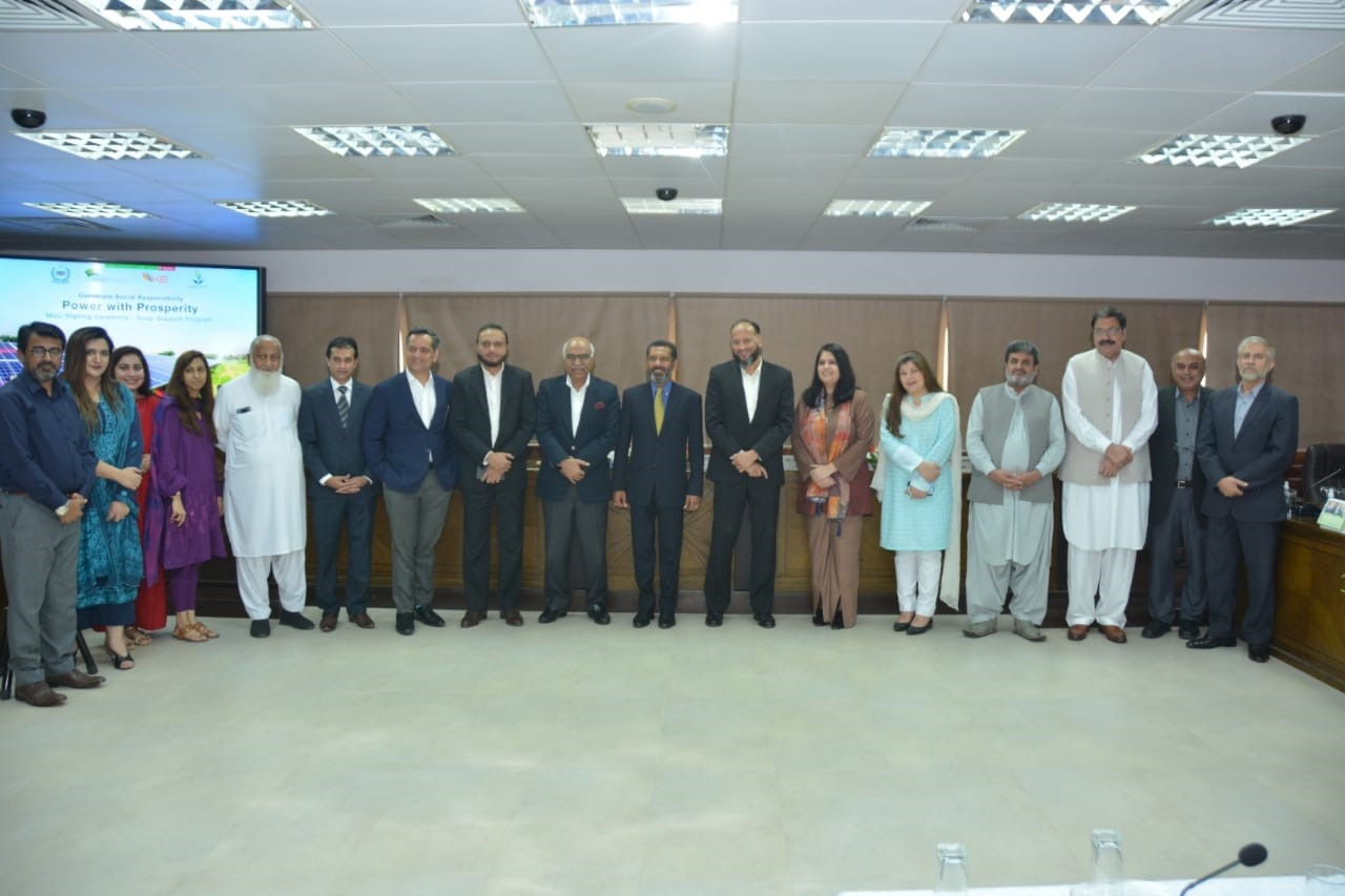 NEPRA under its CSR Drive 'Power with Prosperity' brings together Akhuwat, KE, and Engro for Collaboration to Make Solar Energy More Accessible for the Underserved Communities of Pakistan 1